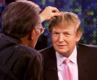 Donald Trump 39 s face. juliayunwonder  is donald trump bald